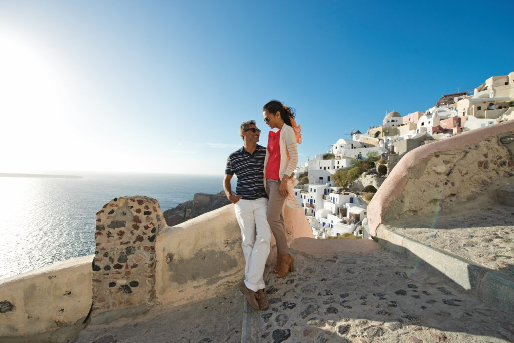 Celebrity Cruises in Oia, Santorini